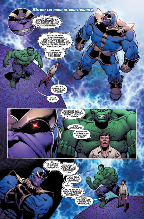 Thanos vs Hulk 2 Preview 1