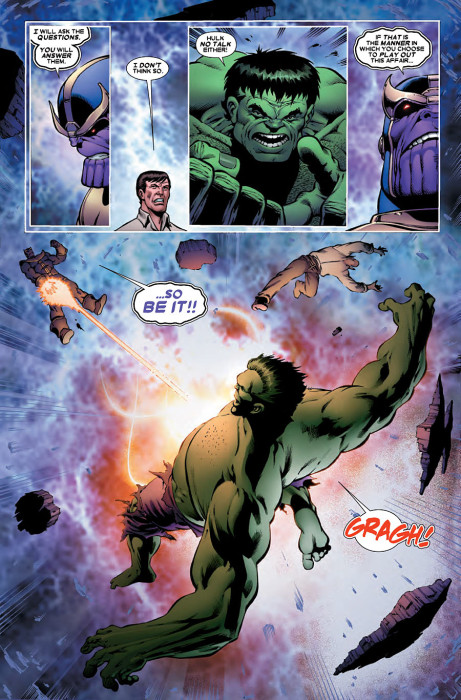 Thanos vs Hulk 2 Preview 2