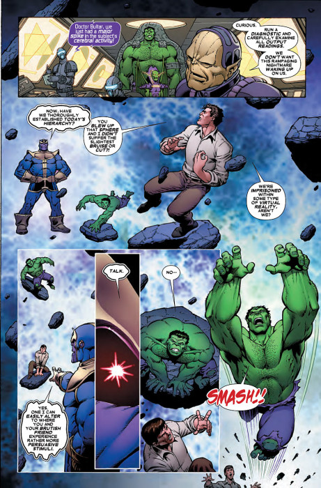 Thanos vs Hulk 2 Preview 3