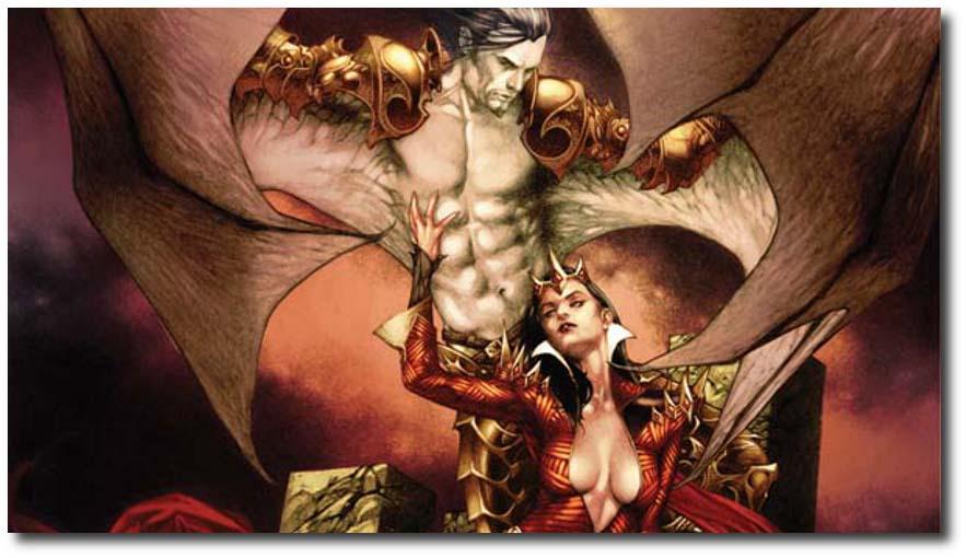 The Blood Queen vs. Dracula 1_A Widescreen