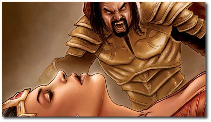 The Blood Queen vs. Dracula 2_B Widescreen