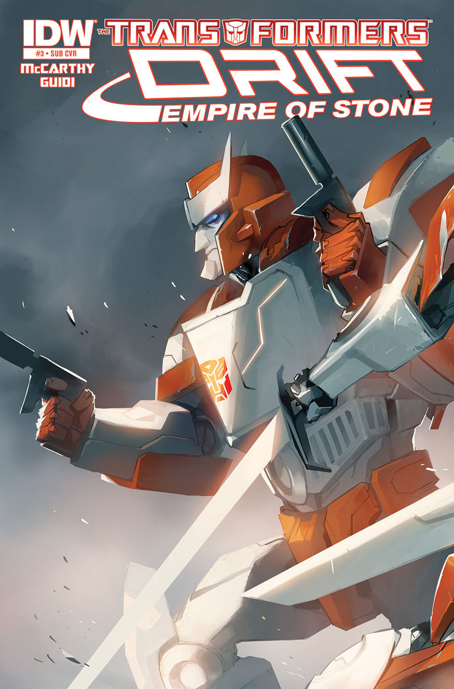 Transformers_Drift_Empire of Stone_3_Cover B