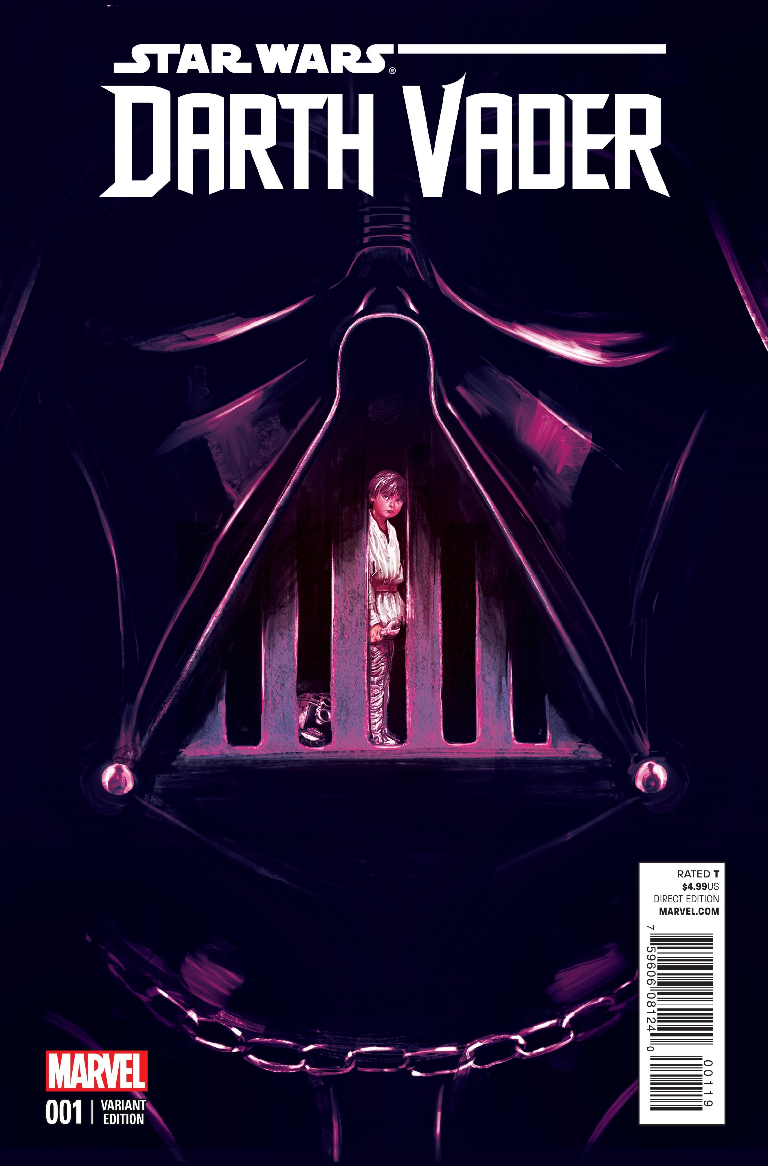 Darth Vader #1 Mike Del Mundo variant