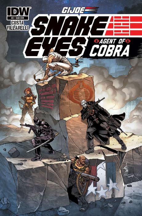 G.I Joe_Snake Eyes_Agent of Cobra_2_Cover 2