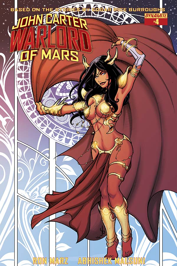 John Carter-Warlord of Mars 4_Variant Cover