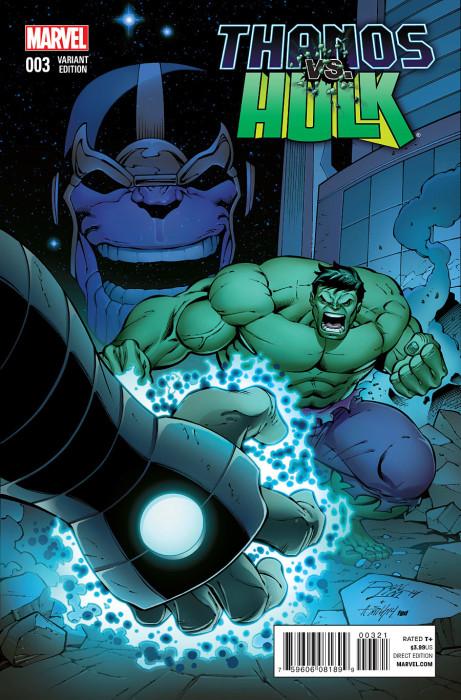 Thanos vs Hulk 3 Lim Cover