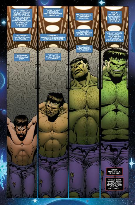 Thanos vs Hulk 3 Preview 2
