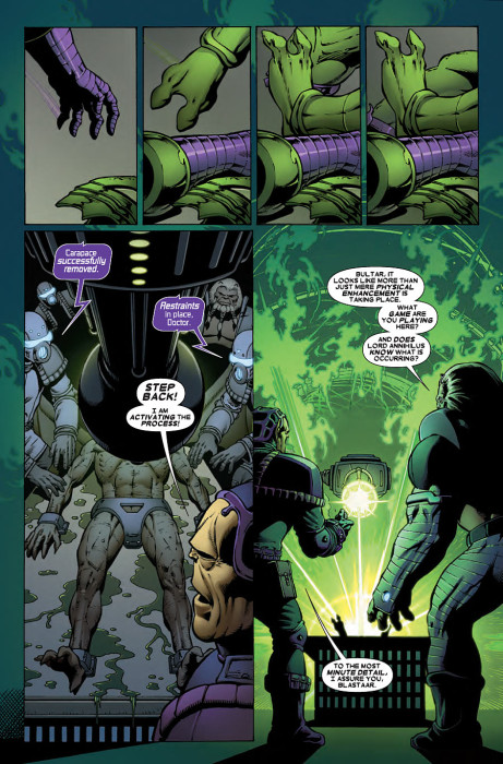 Thanos vs Hulk 3 Preview 5