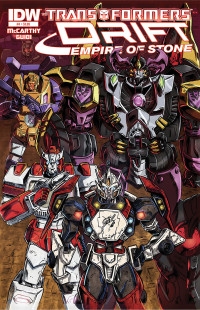 Transformers_Drift_Empire of Stone_4_Cover A
