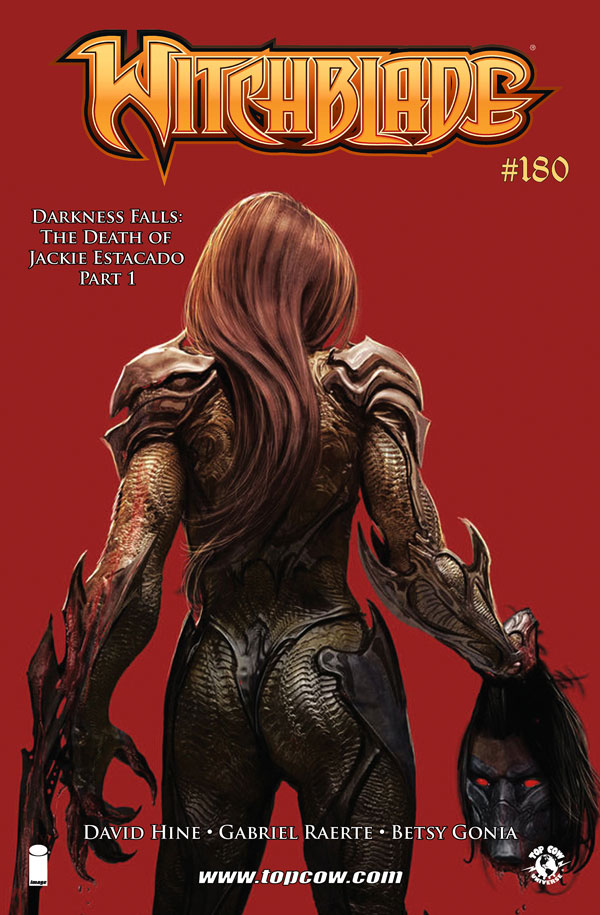Witchblade 180_Variant Cover