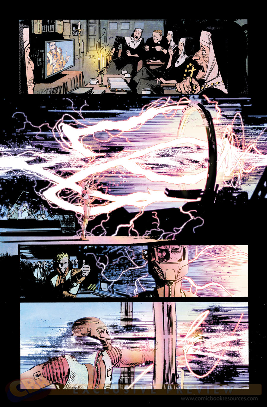 Chrononauts #1 preview