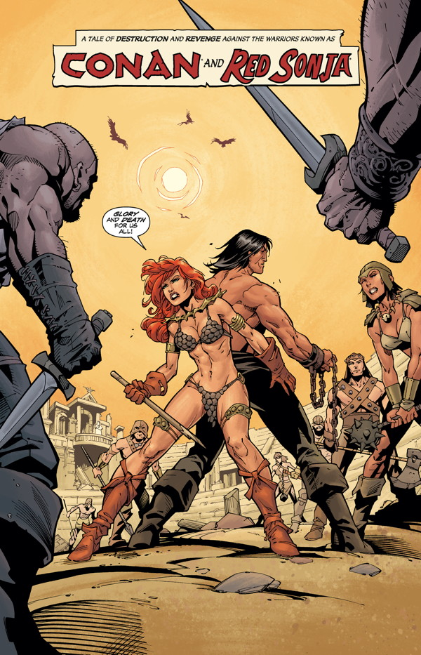 Conan Red Sonja #3 preview