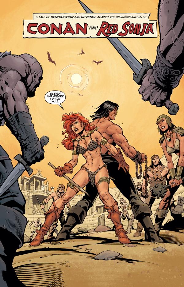Conan Red Sonja #3 preview