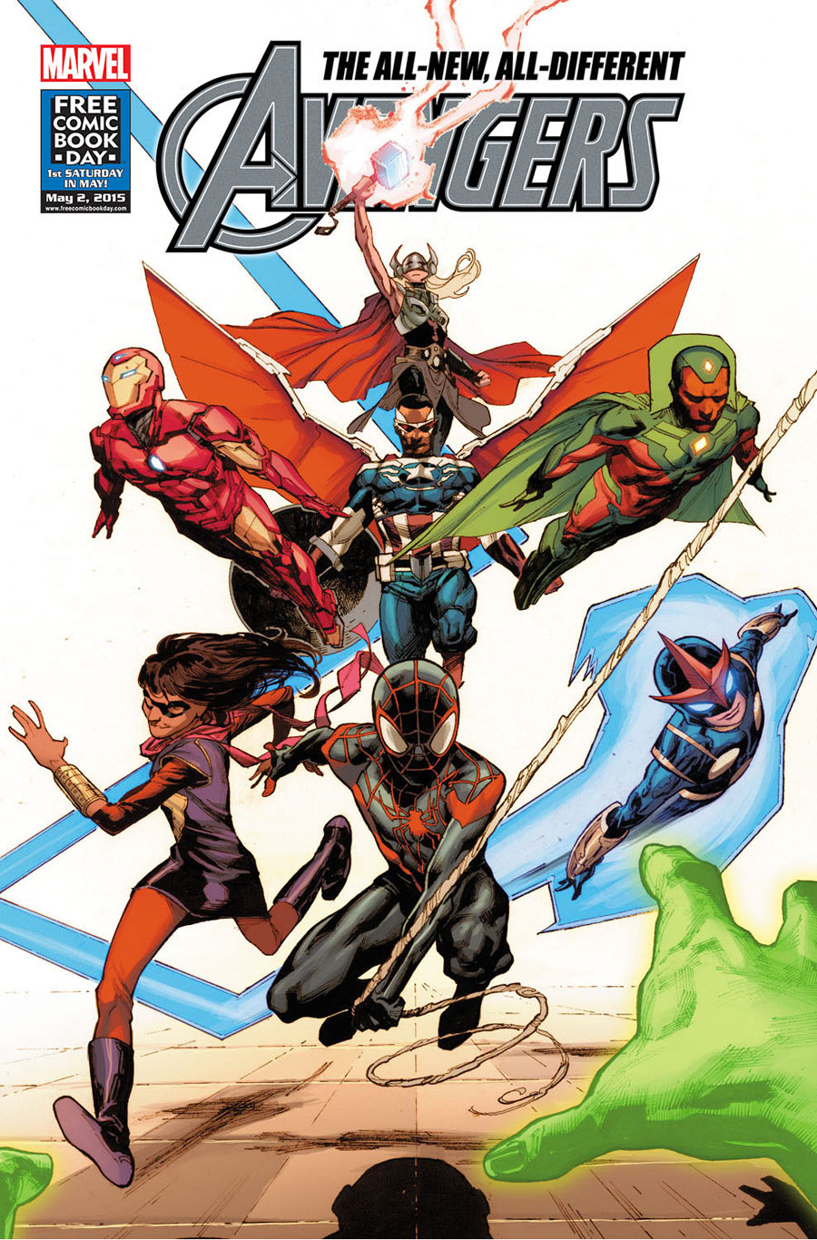 FCBD All New, All Different Avengers