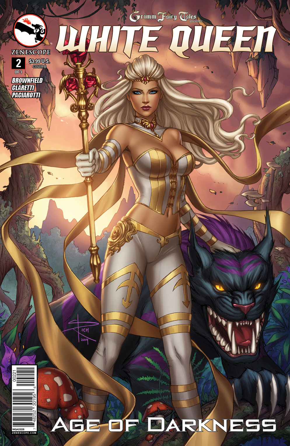GFT White Queen 2_Variant Cover