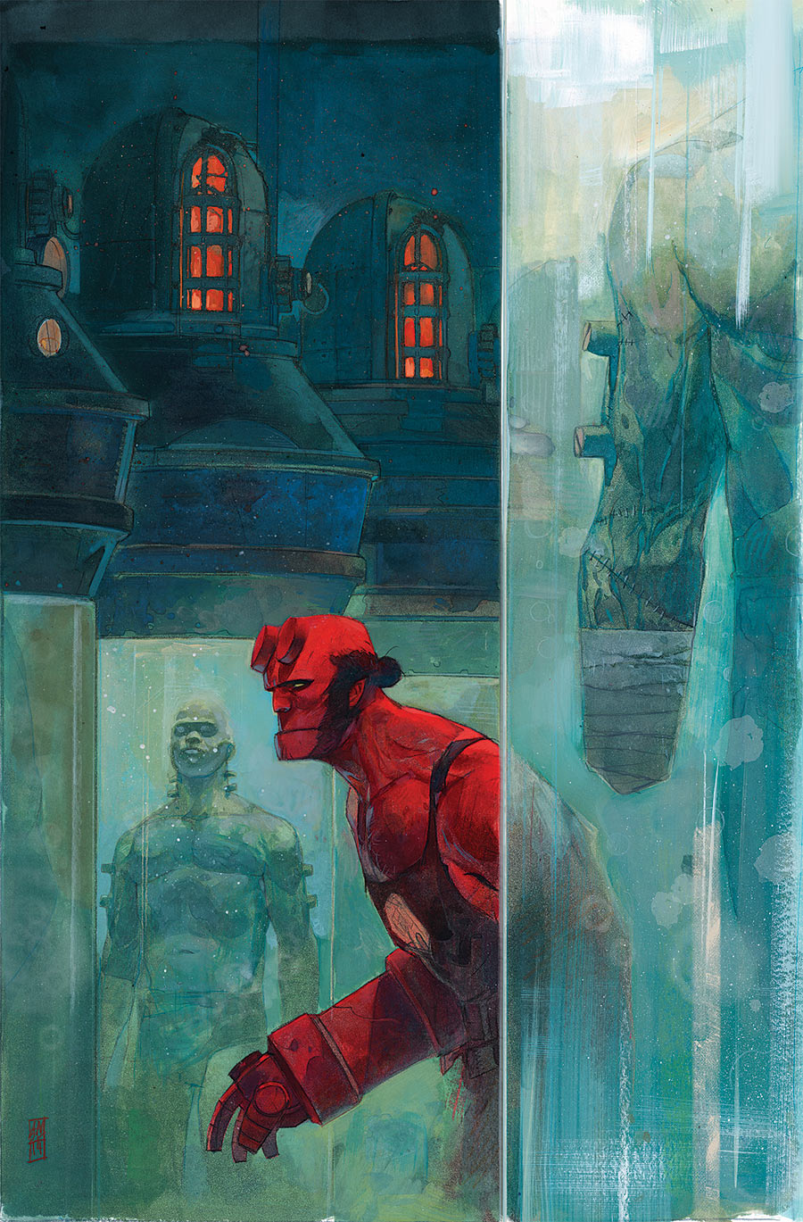 Hellboy and the B.P.R.D. 4_Preview Cover