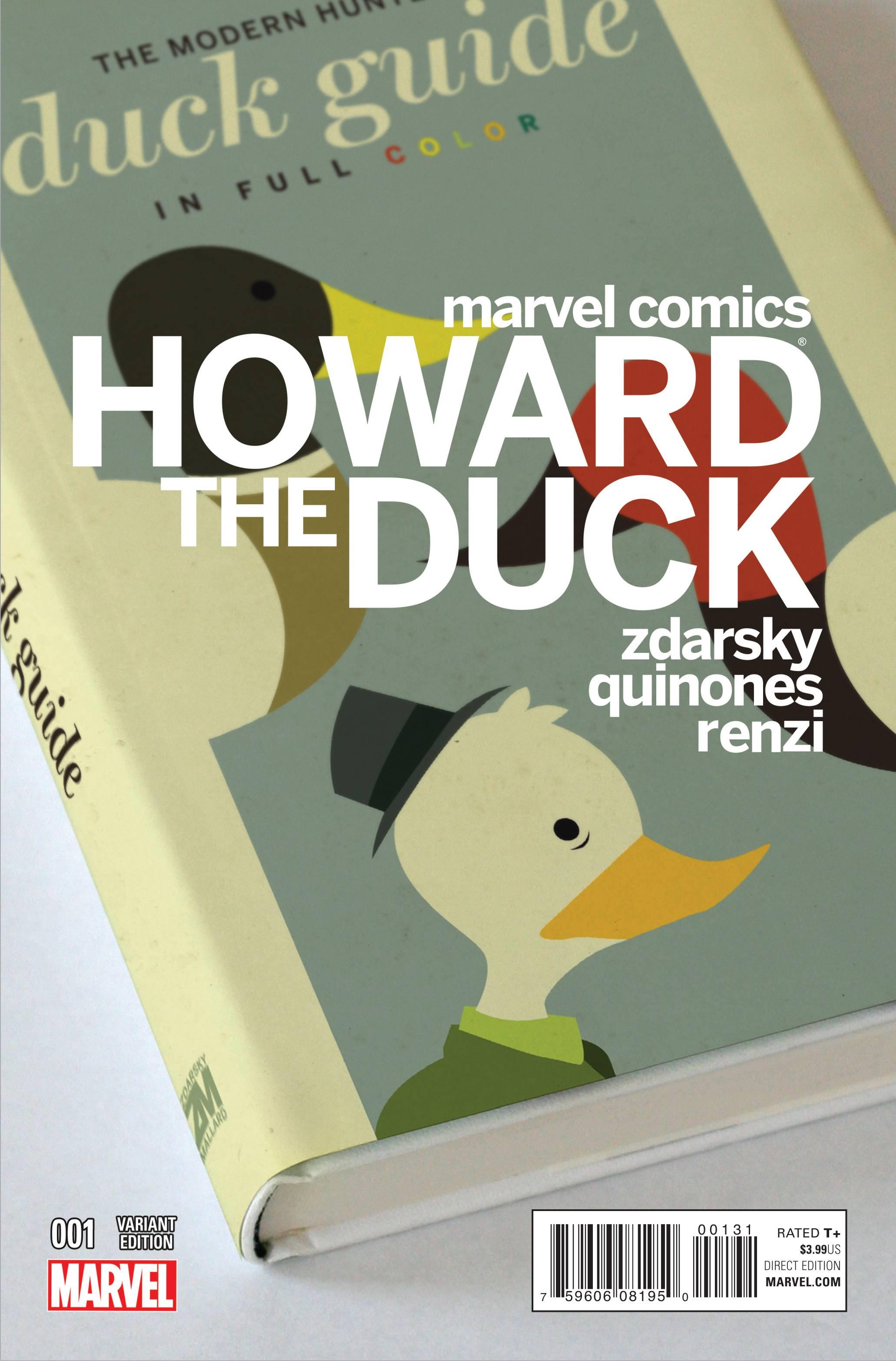 Howard the Duck #1 variant