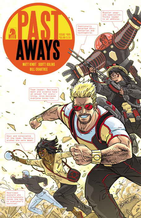 Past Aways 1 Cover
