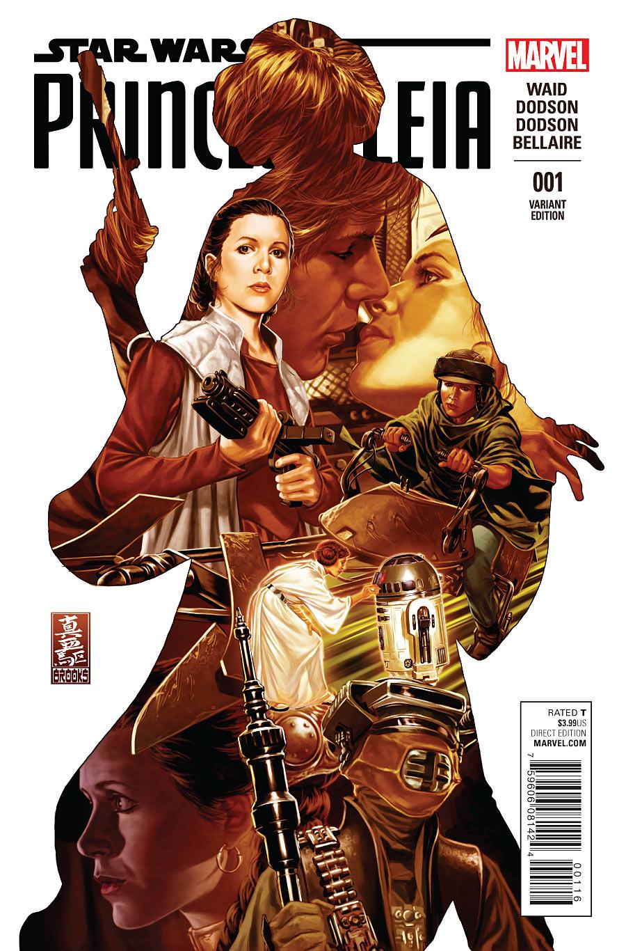 Princess Leia #1 variant