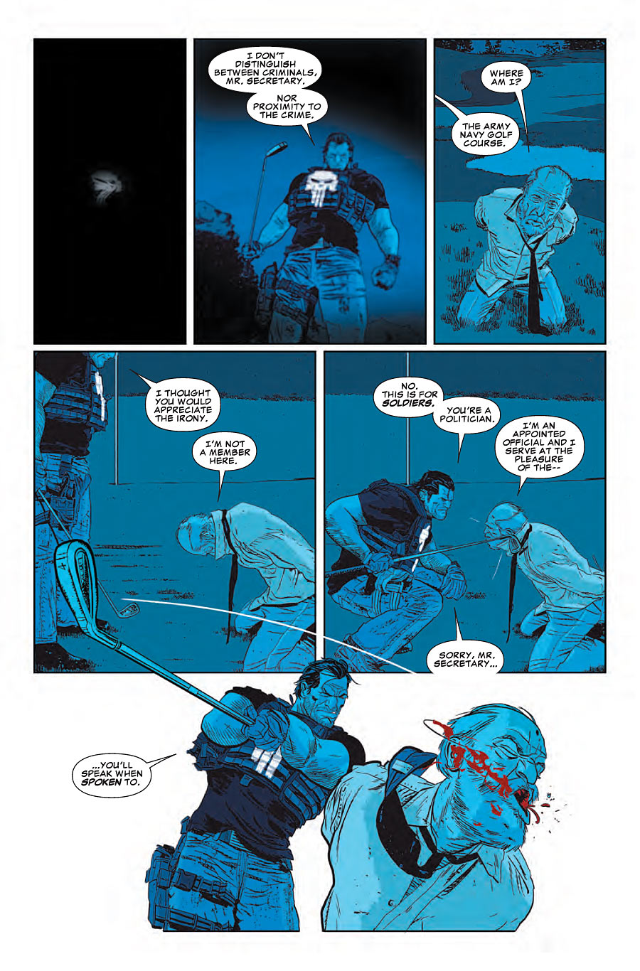 Punisher #16 preview