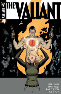 THE VALIANT #4 Cover