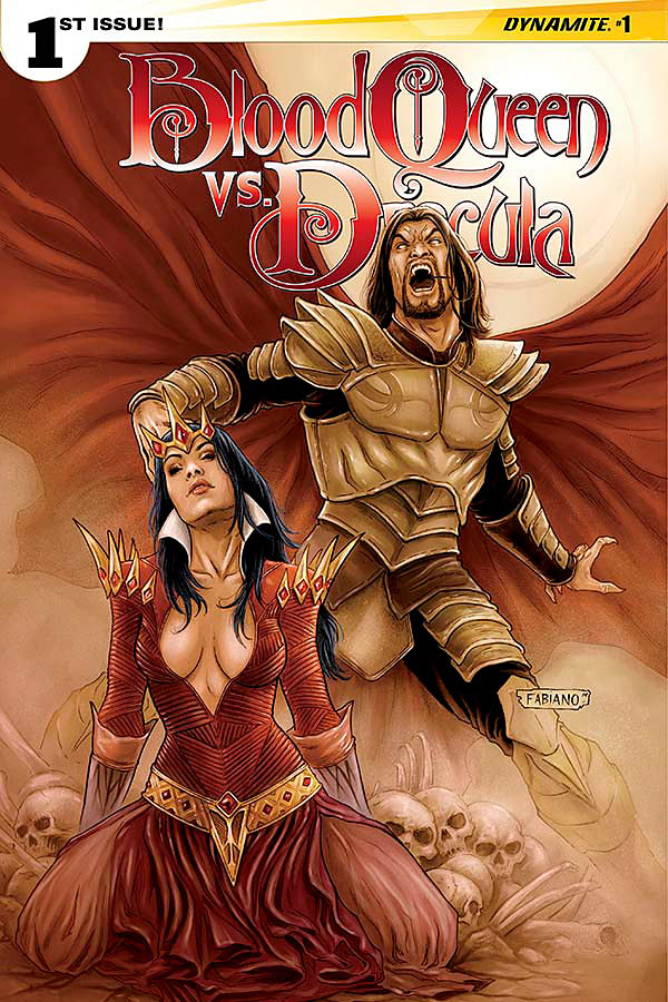 The Blood Queen vs. Dracula 1_Variant Cover