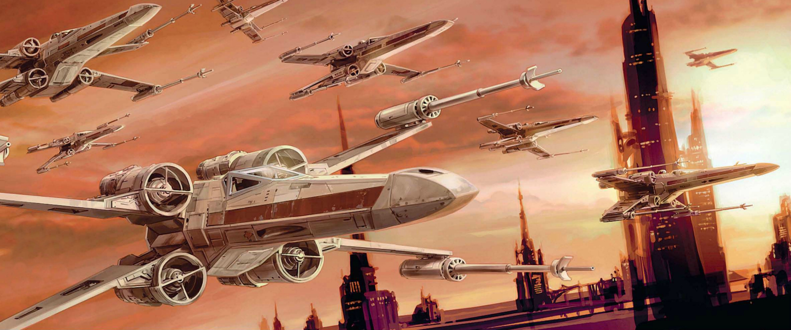 The might of Rogue Squadron