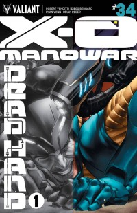 X-O MANOWAR #34 Cover