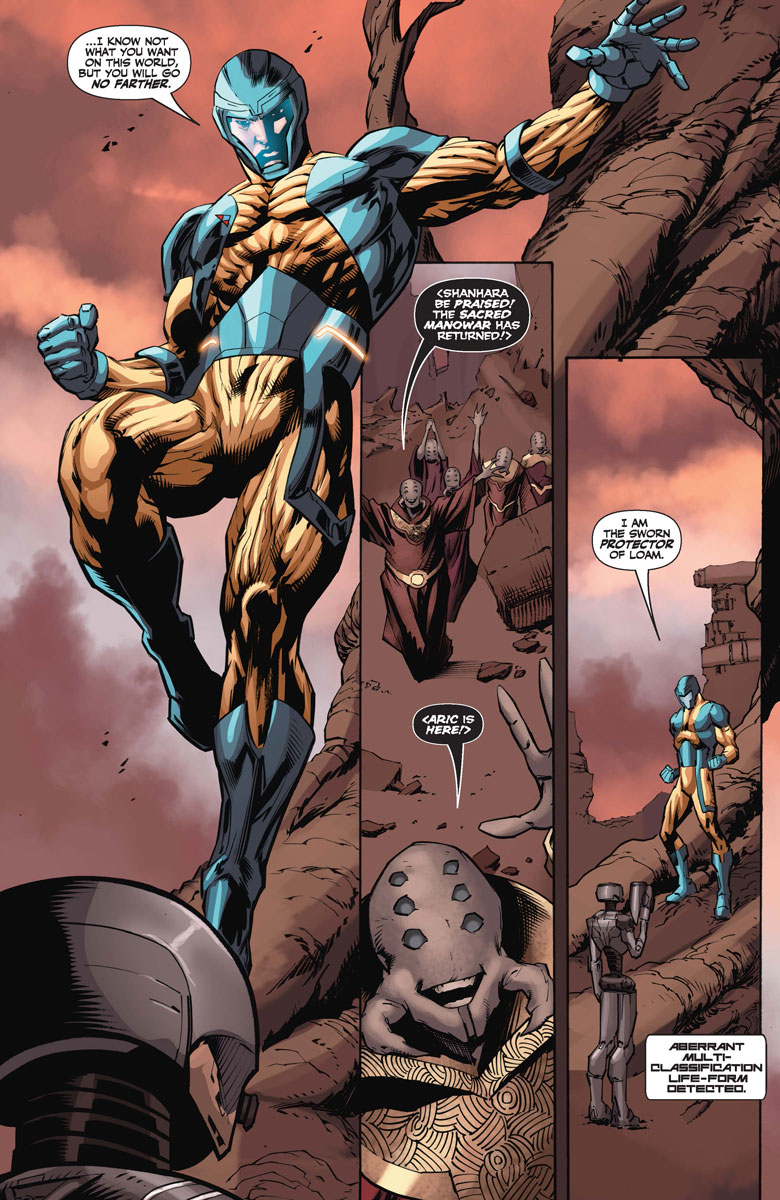 X-O Manowar 34 Preview Page
