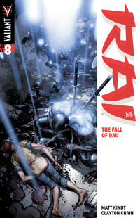 Rai #8 Cover