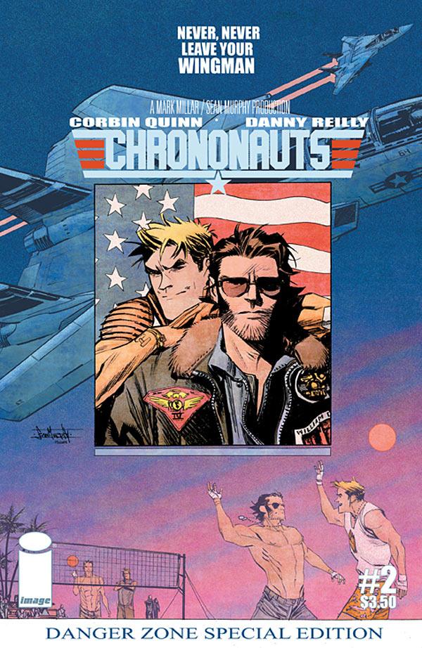 Chrononauts #2 variant