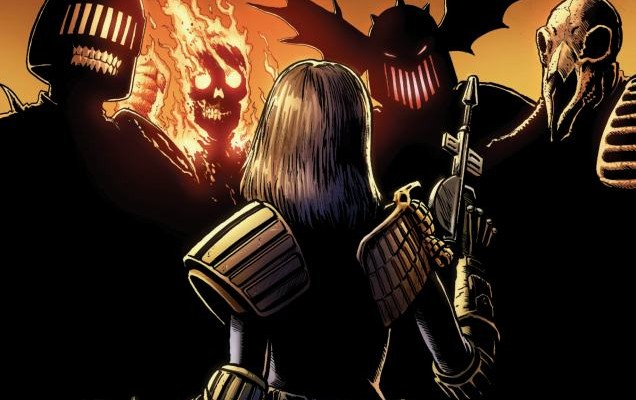Judge Dredd Classics: Dark Judges #4 Review