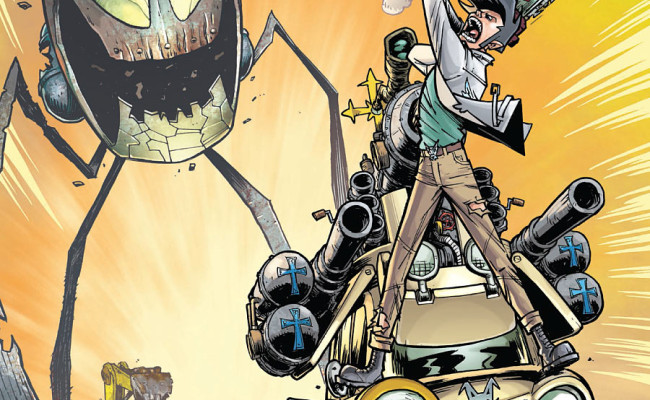 Monster Motors: Curse of the Mini Van Helsing #2 Review
