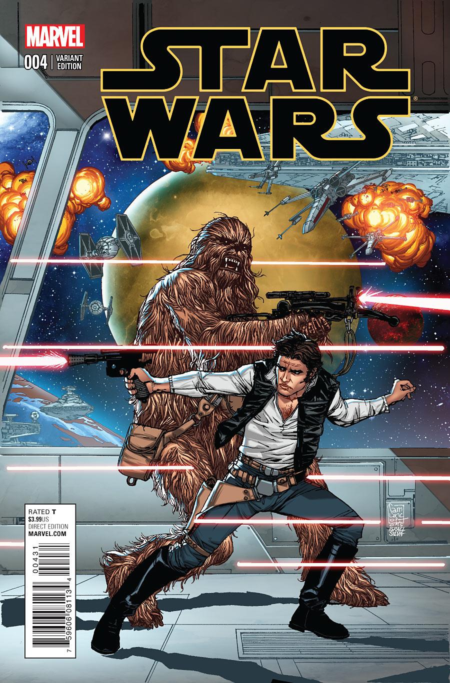 Star Wars #4 variant