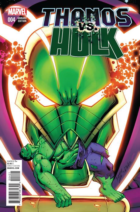 Thanos vs Hulk 4 Lim Cover