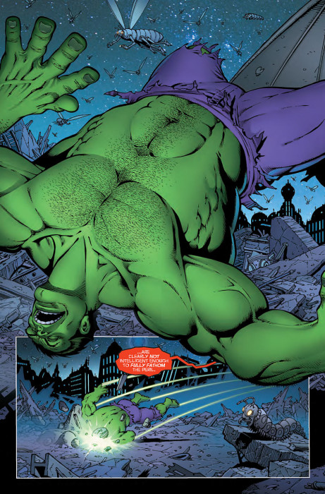 Thanos vs Hulk 4 Preview 3