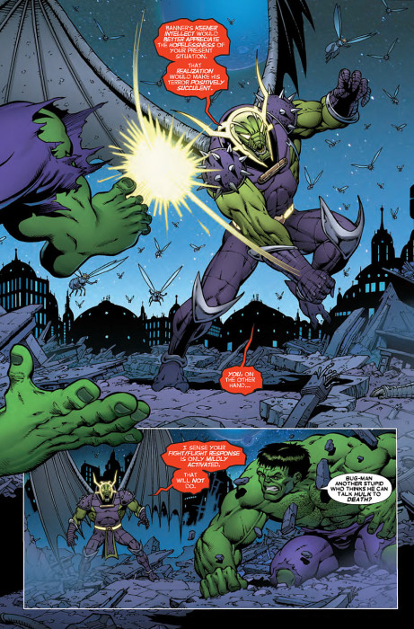 Thanos vs Hulk 4 Preview 4