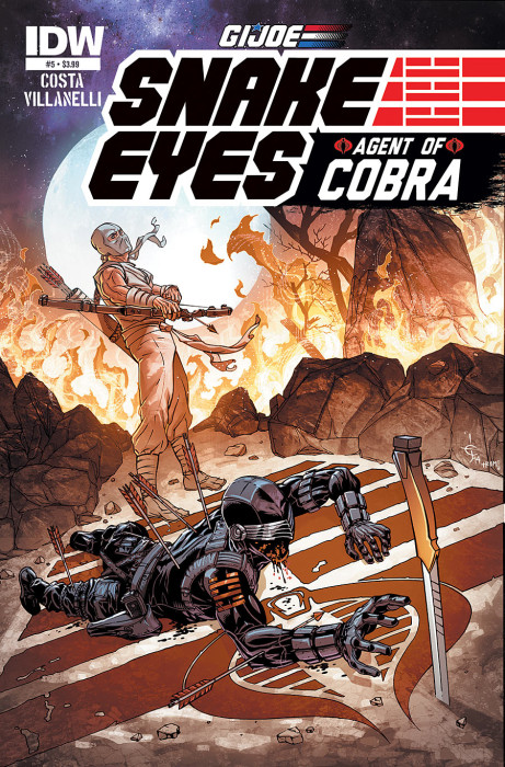 G.I Joe_Snake Eyes_Agent of Cobra_5_Cover B