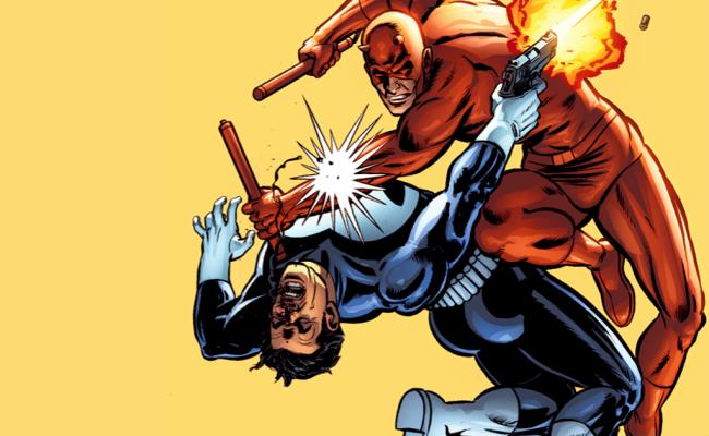 Daredevil vs Punisher in DAREDEVIL Season 2