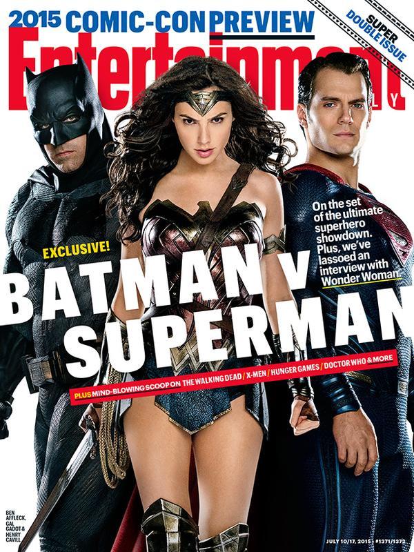 batman v superman ew cover