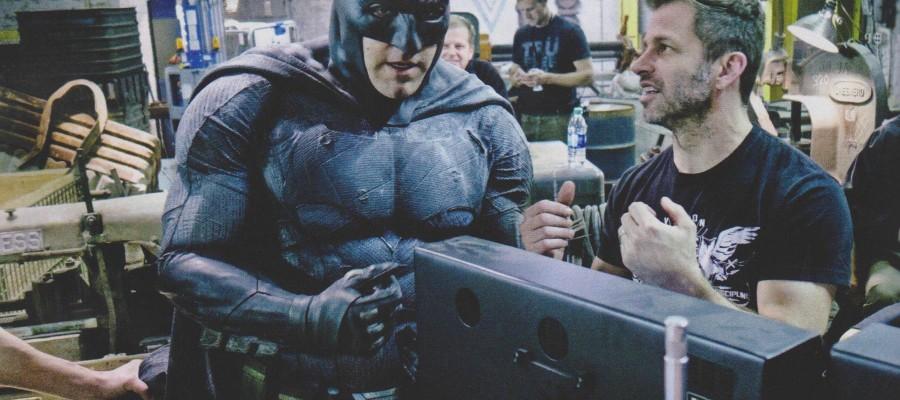 batman zack snyder behind the scenes