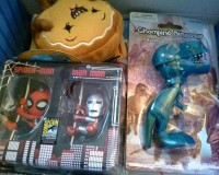 Comic Con Box #3 Unboxing Review