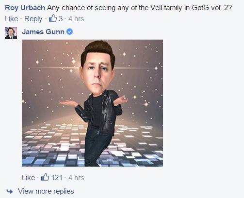 james gunn mar-vell guardians of the galaxy