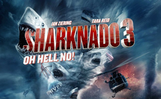 New Trailer for SHARKNADO 3: OH HELL NO is Out!!