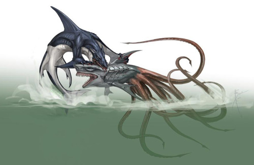The Saga Continues With… SHARKTOPUS VS WHALEWOLF!