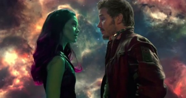 star-lord gamora guardians of the galaxy