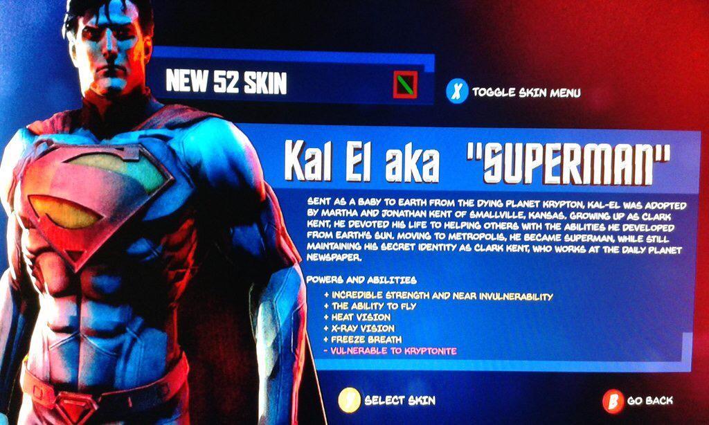 superman video game leak