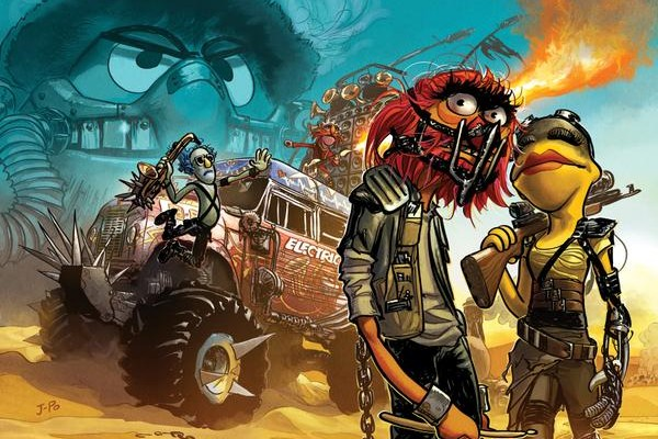 THE MUPPETS Head Down FURY ROAD in Awesome Artwork