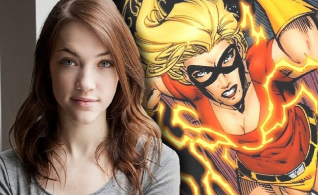 Violett Beane to Play Jesse Quick on Season 2 of THE FLASH