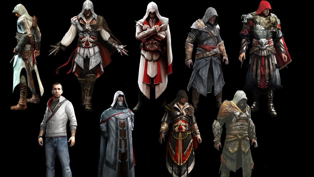 assassin's creed outfits